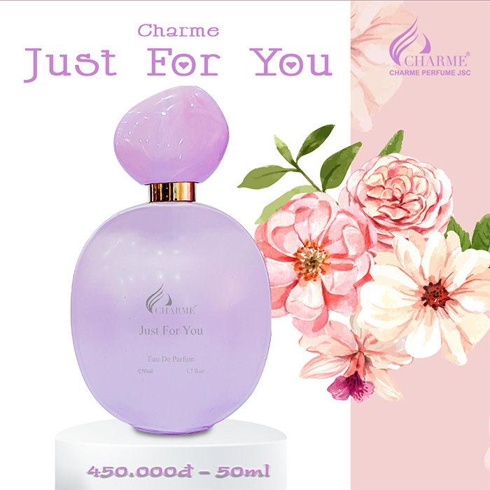 Nước hoa Nữ Charme Just For You 30ml Pháp