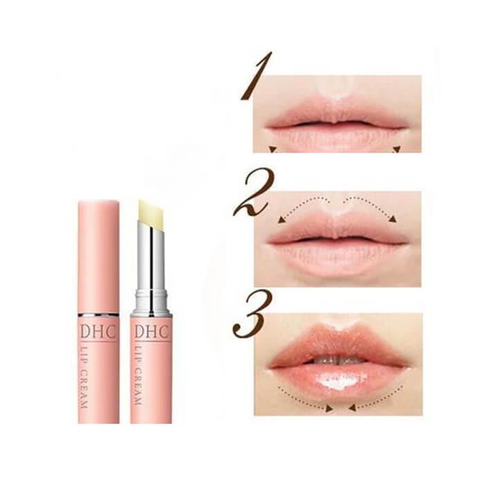 Son Dưỡng Môi DHC Lip Cream 1.5g Dưỡng Ẩm Trị Thâm Môi Nhật Bản